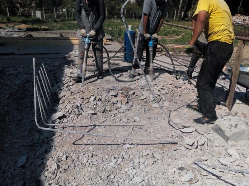 Аренда клмпрессора с бетоноломами Троицк