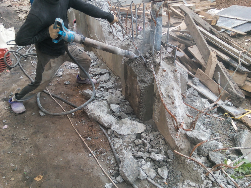 Аренда компрессора с бетоноломами Московская область