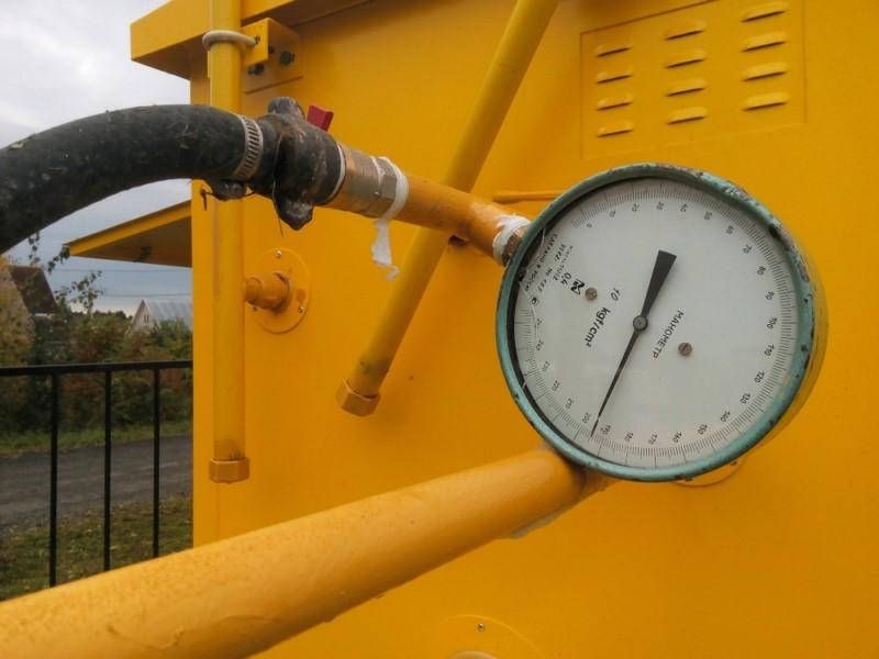 Опрессовка газовых труб
