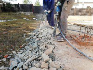 Аренда компрессора с бетоноломами и отбойником Краснознаменск