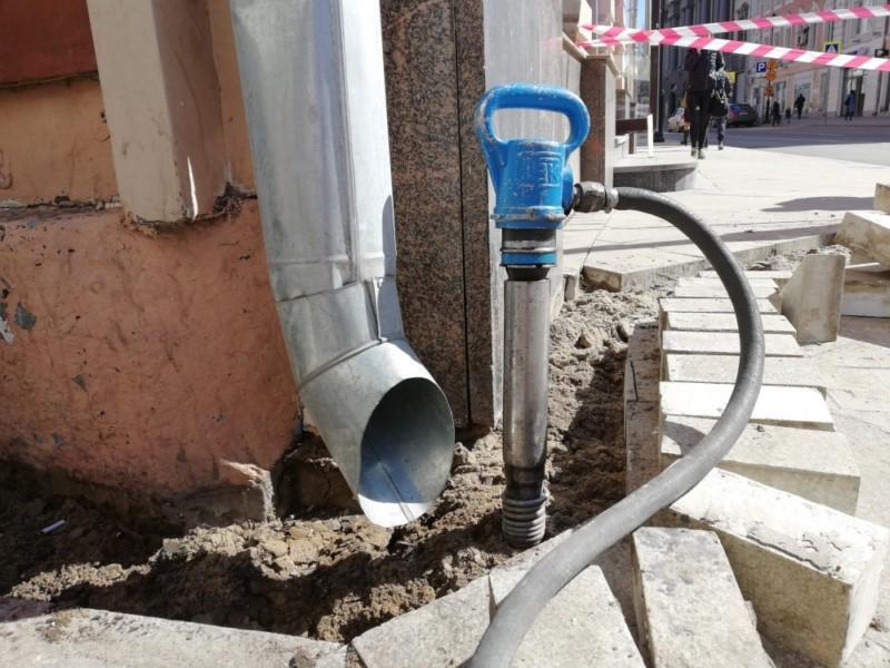 Аренда компрессора с отбойными молотками в Москве