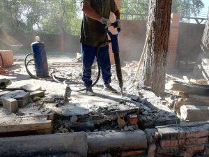 Аренда бетонолома и отбойника с компрессором Химки Московская область