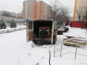 Компрессор в аренду для реконструкции в Москве