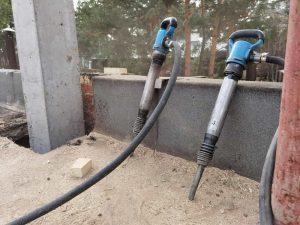 Аренда отбойного молотка в Мытищах для разрушения кирпичных стен