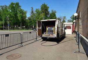 Компрессор с бетоноломами в Лужники для ремонта Малой Спортивной Арены