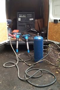 Компрессор напрокат в Лобне с отбойными и бетоноломами, чтобы сломать дом